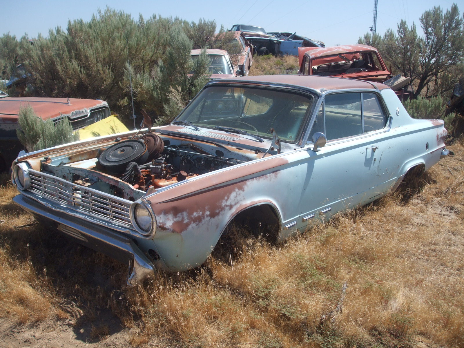 Vintage mopar auto parts